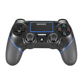 Senze SZ-4002B Bluetooth Gamepad Zes-assige sensor Motor Trillingen Gamecontroller voor Sony voor Playstation 4 3 Game Console PS4 PS3 PC