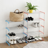 DIY Shoe Organizer Shoe Racks Metal Stainless Steel For Dormitory Household