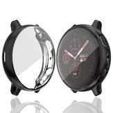 Bakeey Plating Leichte, stoßfeste, kratzfeste TPU-Vollabdeckung Uhrenabdeckung für das Samsung Galaxy Active 2, 40 mm