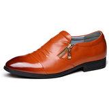 Homens Negócios Couro Soft Sapatos Formais