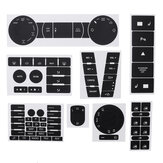 Car Matte Black Worn Button Repair Kit Stickers Decals For VW Volkswagen Touareg 2004–2009