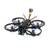 HGLRC Sector132 132mm F4 Zeus 3-4S FPV Racing Drone PNP BNF w/ Caddx Baby Turtle V2 1080P Camera