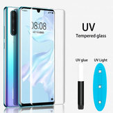 Bakeey UV Liquid Full Glue Abdeckung Clear Curved Anti-Explosion Soft Hartglas Displayschutzfolie für Huawei P30 PRO