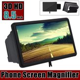 Universal 8.5 inch Screen Magnifier Image Enlarge Desktop Phone Holder for Mobile Phone