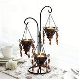 Romantic Creative Crystal Candle Candlestick Holder Candlelight For Wedding Anniversary Celebration Home Table Decoration