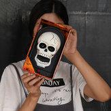 Dia das Bruxas Campainha Caolho Decorações de Halloween Caveira Abóbora Horror Campainha Fantasma Decorações de festa