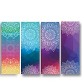 Diamond Fabric Yoga Towel Yoga Towel Printing Fancy Yarn Yoga Mats Exercise Towel