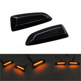 Dynamic Flowing LED Side Marker Lights Turn Indicator Repeater Lamp Amber For Opel Vauxhall Astra J K Insignia