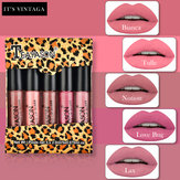Matte Lip Gaze Five Mini Boxing brilho labial Lip Varanda