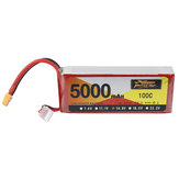 ZOP Power 14.8V 5000mAh 100C 4S Lipo Batterie XT60 Plug for Quadricoptère RC Car Airplane