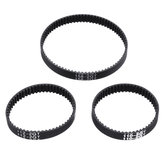 Original              TWO TREES® 6mm Width 110/112/158mm Length Closed Loop GT2 Rubber Timing Belt for 3D Printer