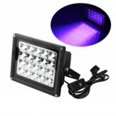 Custodia nera EU / US Spina ad alta potenza UV LED Lampada polimerizzante in resina Sorgente luminosa da 200 W per SLA DLP UV Solo stampante 3D in resina