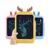 8,8 pulgadas LCD Tableta de escritura Orejas de conejo / Forma de orejas de ciervo Tablero de dibujo digital Almohadilla de escritura electrónica Mensaje Tablero de gráficos Juguetes Regalos para niños Niños