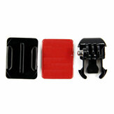 Mount Helmet Curved Sticker Buckle Basic Mount for Gopro Hero 8 7 6 5 4 3 3 Plus 2 1 SJcam Yi Action Camera