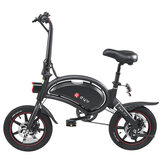 [EU Direct] DYU D3+ 10Ah 36V 240W Folding Moped Electric Bike14inch 25km/h Top Speed 70km Mileage Range Intelligent Double Brake System Max Load 120kg