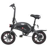 [AB Doğrudan] DYU D3 + 10Ah 36 V 240 W Katlanır Moped Elektrikli Bisiklet14 inç 25 km / saat En Hız 70 km Kilometre Aralığı Akıllı Çift Fren Sistemi Max Yük 120 kg