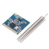 5pcs CMT2300A SI4438/SI4432 433MHz LoRa Wireless Transceiver Module RF Transmitter Receiver Spring Antenna Distance 1000M
