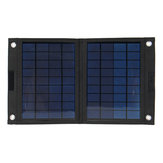 Sunpower 50W 18V plegable Solar Panel cargador Solar Power Bank para Huawei iPhone Samsung