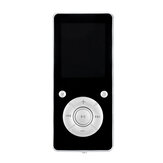 Bluetooth Lossless MP3 Player MP4 Audio Video Player Gravador de Rádio FM Ebook Esporte Música Alto-falantes Suporte 32GB Cartão TF