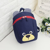 5L Toddler Kids Children Anti-lost Backpack School Bag Cute Bear Shoulder Bag With Traction Rope Outdoor Travel