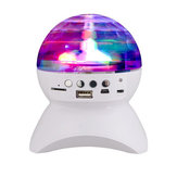 Haut-parleur sans fil Bluetooth Disco Ball Party Music LED Spectacle de lumière pour iPhone Huawei