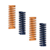 4pcs Ultimate Upgraded Blue / Yellow Flat Bed Leveling Spring Extruder Spring para impressora 3D
