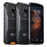 DOOGEE S68 Pro Global Version 5,9 tommer FHD + IP68 Waterdrop 6300mAh NFC 21MP Triple Bagkameraer 6GB RAM 128 GB ROM Helio P70 Octa Core 2.0GHz 4G Smartphone