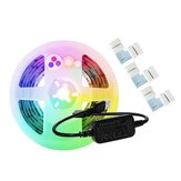 GLEDOPTO DC5V 2M USB RGB + CCT Smart TV Computer LED Strip Light + 3 STKS Connectoren voor Zigbee Hue Echo
