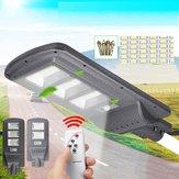 Farola solar 96 / 144LED Pared Lámpara Sensor de luz + radar Control remoto Controlador