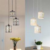 Lámpara de techo moderna con pétalos de flores LED Colgante Lámpara de comedor ligera