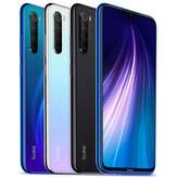 Xiaomi Redmi Note 8 Global Version 6,3 tommer 48MP Quad bagkamera 4GB 64GB 4000mAh Snapdragon 665 Octa-kerne 4G Smartphone