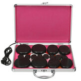 110V-220V Electric Heating Box 16Pcs Massager Hot Stones Kit