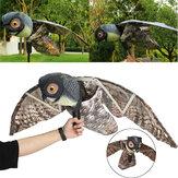 براولر البومة شرك الطيور الآفات الرادع المفزع ديكورات حديقة الفزاعة