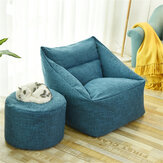 Large Bean Bag Chair Covers Lazy Sofa Indoor Seat Armchair Washable Cozy Game Lounger