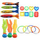 19PCS Плавание Бассейн Подводное плавание, игрушки, водные игрушки для детей