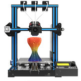 Imprimante 3D Geeetech® A10T Mix-Color Prusa I3 Taille d'impression 220 * 220 * 250mm avec triple extrudeuse / Buse 3 en 1 / Détecteur de filament / Reprise de l'alimentation / Train d'engrenages 3: 1 / Carte Open Source GT2560 / Mélangeur