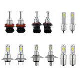 Upgraded 70W 8000LM LED Car Headlights Bulbs H1 H4 H7 H11 9005 9006 1156 6000K White 2PCS