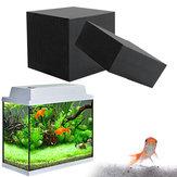 10x10x10cm浄水器Cubeエコ水族館活性炭フィルター