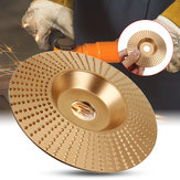 100x16mm Golden Wood Grinding Wheel Rotary Disc Sanding Wood Carving Abrasive Disc