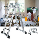 Aluminium Alloy Ladder Multi-Purpose Climb Telescopic Folding Step