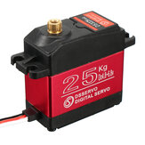 DSSERVO DS3225MG 25 KG Waterproof Metal Gear Digital Servo Untuk 1/8 1/10 1/12 RC Mobil
