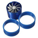 Universal Single Turbocharger Fuel Gas Air Filter Intake Turbine Turbo Fan