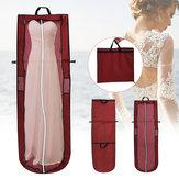 Składana suknia ślubna Ręczna odzież dla nowożeńców Pokrowiec Pyłoszczelna torba do przechowywania