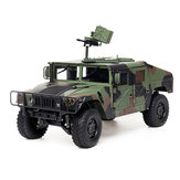 HG P408 Standard 1/10 2.4G 4WD 16CH 30km/h RC Car U.S.4X4 Military Vehicle Truck without Battery Charger
