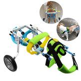 Carrozzina per cani con carrozzina Gambe posteriori Passeggino per animali domestici con trazione a 4 ruote per cucciolo Carico massimo 5 kg