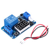 5V Trigger Time Delay Relay Module with LED Digital Display  0-999s 0-999min 0-999H Work-delay/Delay-work