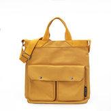 Женская сумка для отдыха из плотной ткани с большой вместимостью Сумка
