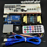 Geekcreit Basic Learning Starter Kits with  UNO R3 Geekcreit for Arduino - products that work with official Arduino boards