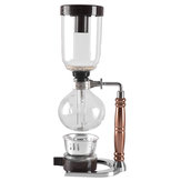 Japanese Style Siphon 360ml Glass Coffee maker Tea Siphon Pot Vacuum Coffee Maker Coffee Machine Filter Kahve Makinas