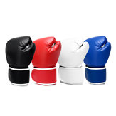 14oz Boxing Glove Training Martial Grappling Punching Thai Sparring Mitts Gym